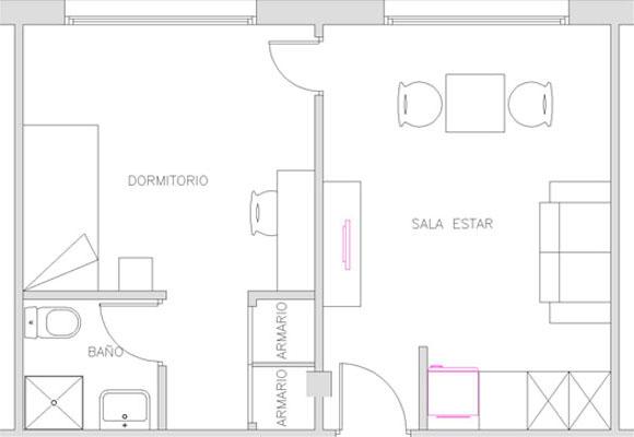 Apartamento de estudiantes Barcelona