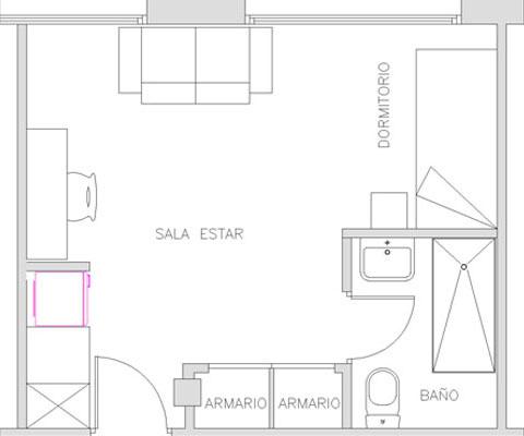 Habitación estudiantes Barcelona